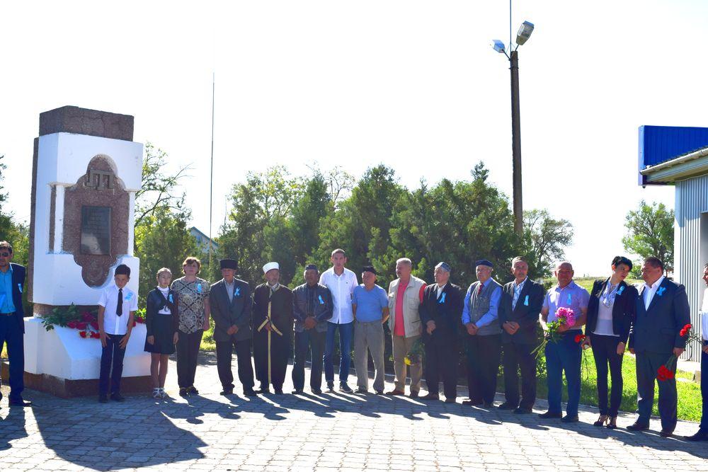 Жители Раздольненского района почтили память жертв депортации
